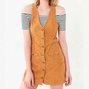 Urban Outfitter Cooperative Jumper Corduroy Dress